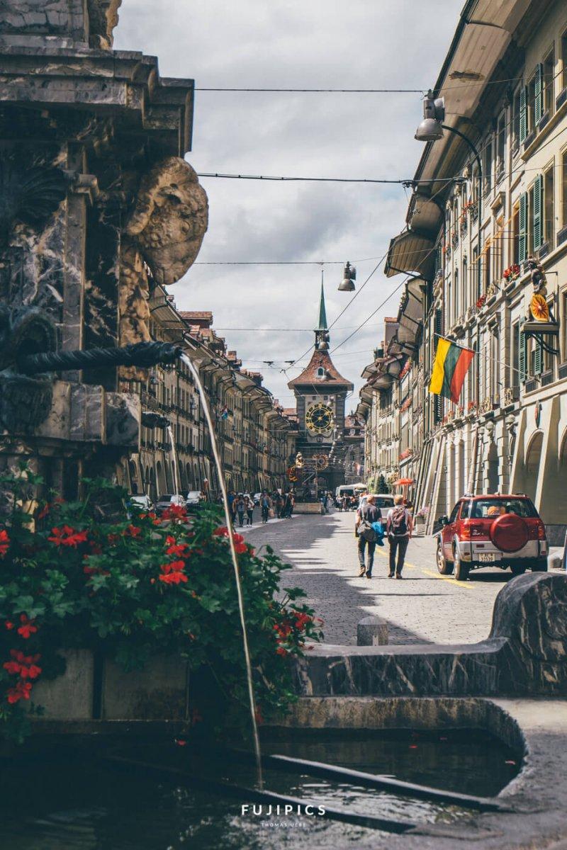 Berner Altstadtgasse